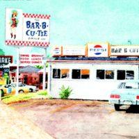 photograph of an original Bar-B-Cutie location